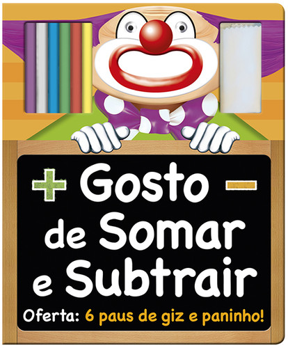 GOSTO DE SOMAR E SUBTRAIR