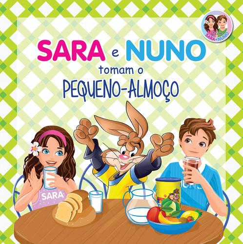 SARA E NUNO TOMAM O PEQUENO-ALMOÇO