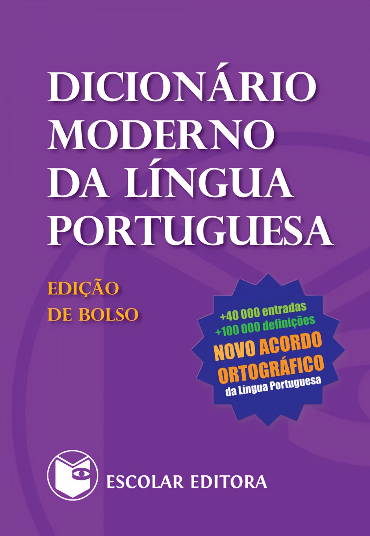 Dicionário Moderno da Língua Portuguesa - Edição de Bolso