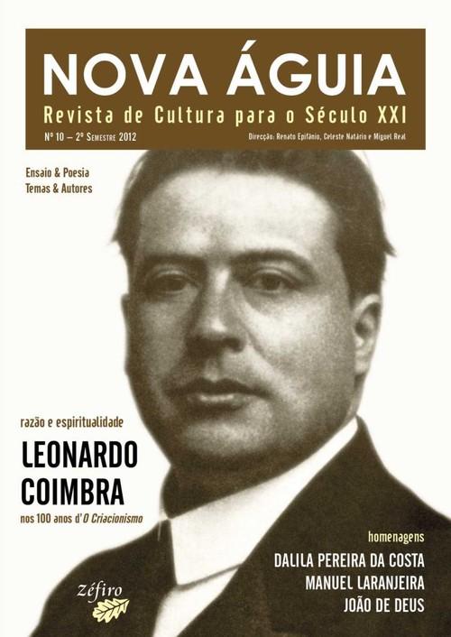 NOVA ÁGUIA Nº 10 - 2º SEM. 2012 - LEONARDO COIMBRA