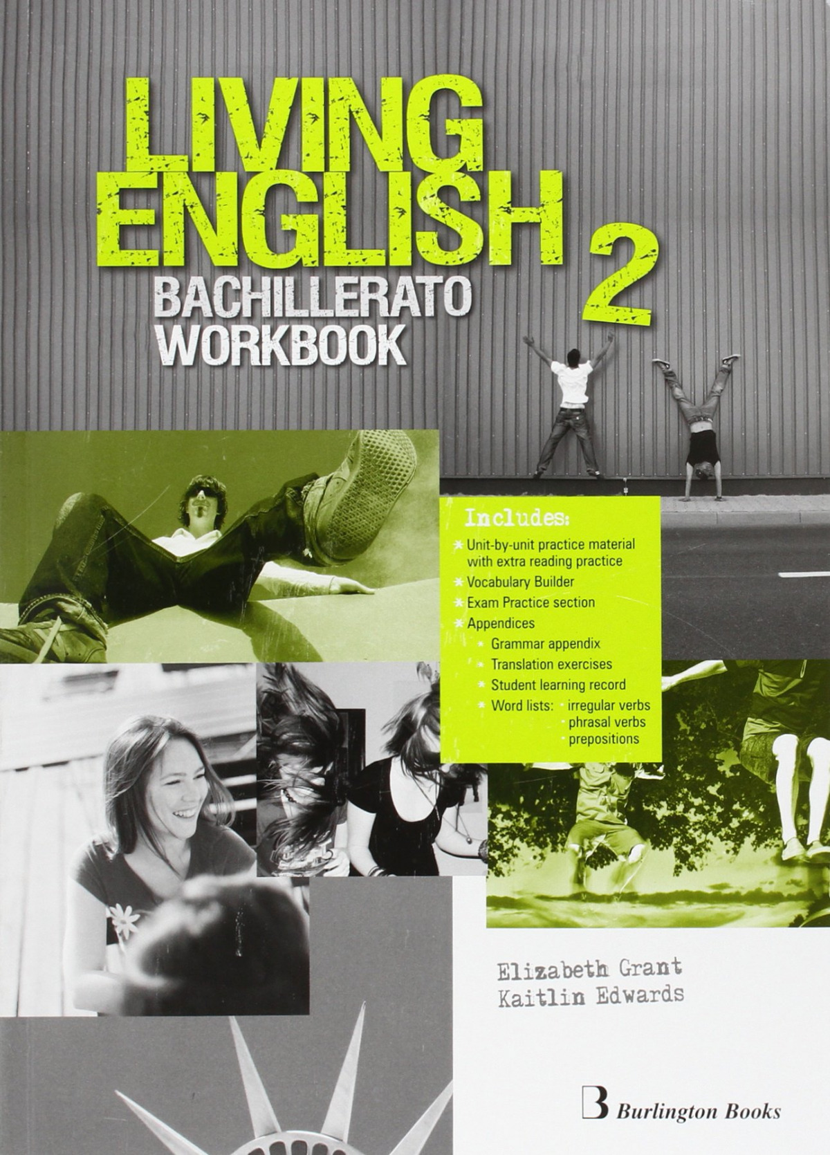 Living english 2o.bachillerato. Workbook 9789963489985