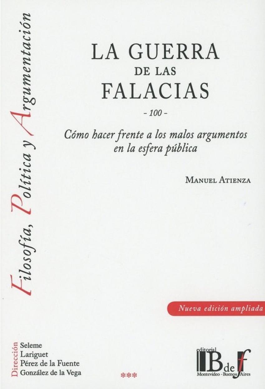 LA GUERRA DE LAS FALACIAS