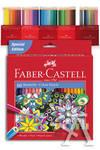 Estuche 60 lapices hexagonales colores surtidos faber-castell