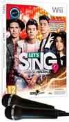 Lets Sing 9 Version Española + 2 Micros Wii