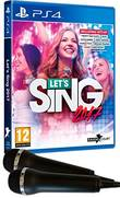 Lets Sing 2017 + 2 Micros Ps4