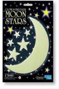 GLOW MOON SMALL & STARS.(GLOW)