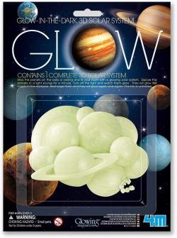 3D SOLAR SYSTEM GLOW