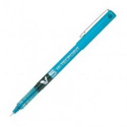 Boligrafo pilot v5 azul cielo punta 0,5mm