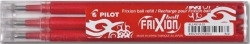PACK/3 RECAMBIOS BOLIGRAFO PILOT FRIXION BALL ROJO 0,7MM