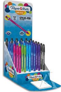 Exp 36 boligrafo stylus inkjoy 100 cap punta m 1,0mm colores surtidos paper mate