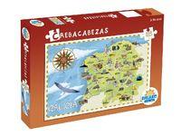 Crebacabezas. Puzzle educativo monumentos de Galicia