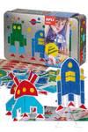 Space Invaders caja metálica