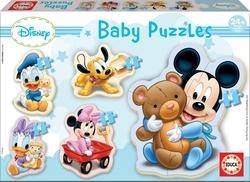Mickey baby puzzles.(5 PUZZLES/3,4,5 PZAS)