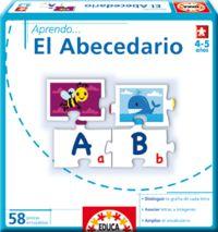 Aprendo el abecedario (58 Piezas)