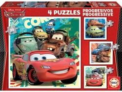 Cars 2 puzzle progresivo