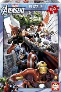Marvel avengers assemble Puzzle 500 piezas