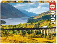 Viaductode glenfinnan, Escocia puzzle 1000 piezas