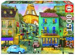 Calles de París puzzle 1500 piezas