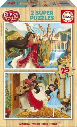 Elena de Avalor 2 puzzles 25 piezas
