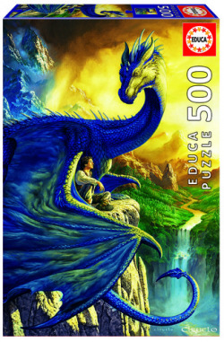 Eragon and saphira puzzle 500 piezas