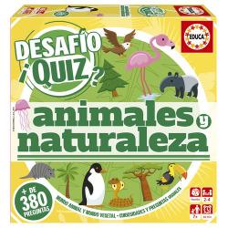 JUEGO DESAFIO QUIZ ANIMALES Y NATURALEZA