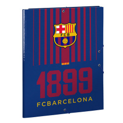Carpeta Fº 3 solapas FC Barcelona 26x33,5cm