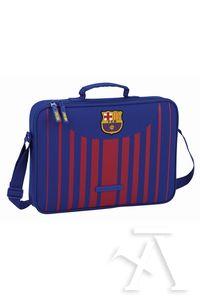 Cartera extraescolares FC Barcelona 38x28x6cm