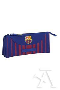 Portatodo triplo FC Barcelona 22x10x3cm