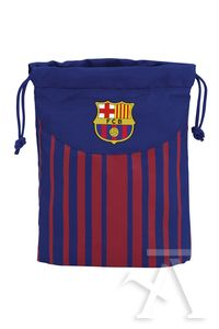 Saquito merienda FC Barcelona 20x25cm