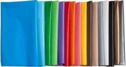 Pack/25 bolsas de plástico para disfraces 65x90cm color violeta
