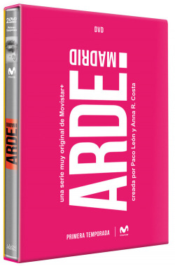 DVD ARDE MADRID SERIE COMPLETA