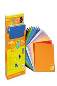 Exp 57 laminas goma eva 45x60 colores surtidos carchivo