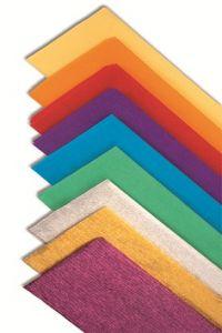 Rollo continuo papel crespon amarillo canario 50x250cm