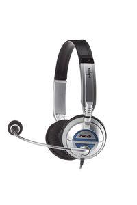 Auricular Con Micro Ngs Msx6Pro Plata/Negro
