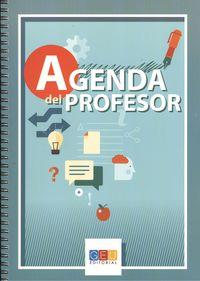 Agenda del profesor