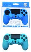 Silicone Sleeve + Grips Azul Freetec