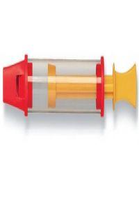 Flauta de embolo transparente hogueit
