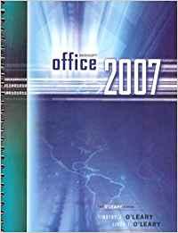 Microsoft Office 2007 Software