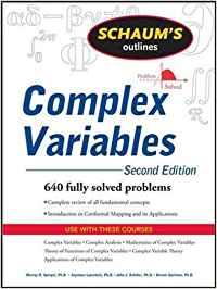 SCHAUM'S OUTLINE OF COMPLEX VARIABLES