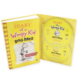 Diary of a wimpy kid 4 book and cd