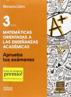 Aprueba Matemáticas 3.º ESO. Cuaderno del Alumno.