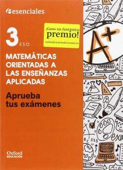 Aprueba Matemáticas Aplicadas 3.º ESO. Cuaderno del Alumno.