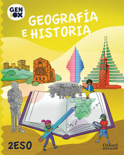 Geografía e Historia 2º ESO. GENiOX Libro del Alumno (Murcia)