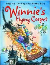 WINNIE'S FLYING CARPET.(+CD)