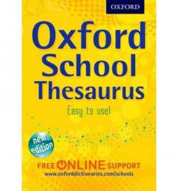 OXFORD SCHOOL THESAURUS.(IMPORTACION)