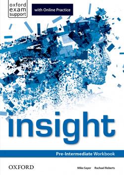 Insight Pre-Intermediate: Workbook and Online Practice Stude