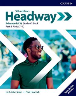 HEADWAY ADVANCED SPLIT STUDENTS B FIFTH EDITION