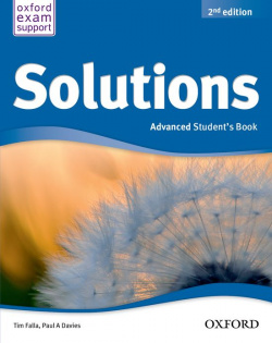 ANT/(13).S OLUTIONS ADVANCED (STUDENT'S) (C1) 2ND.ED