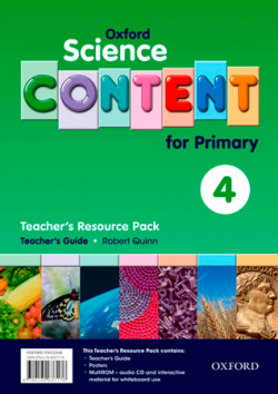 Science Content 4th Primary. Pack (Teachers Resource)