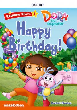 DORA THE EXPLORER HAPPY BIRTHDAY READING STARS 1 WITH MP3
